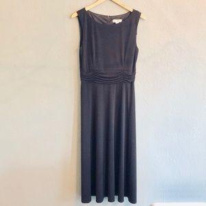 NEW! Christopher & Banks Long Black Dress